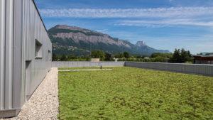 EMKA Photographe - Annecy - Grenoble - Reportage de Chantier - Vue toit
