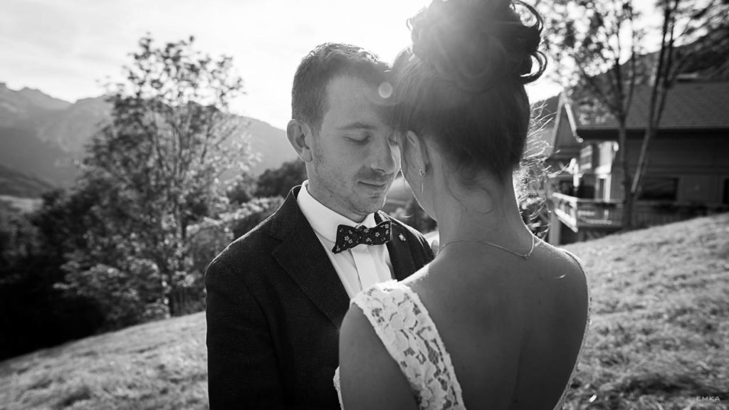 Reportage Mariage Annecy - Ceremonie laique Manigod - Photographe Haute Savoie - EMKA Photographe