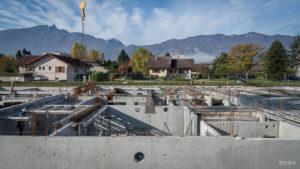 EMKA Photographe - Annecy - Aix-les Bains - Reportage de Chantier - Coulage dalle béton