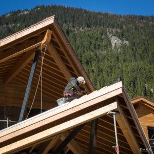 EMKA Photographe - Annecy - Chamonix - Reportage de Chantier - Charpentier