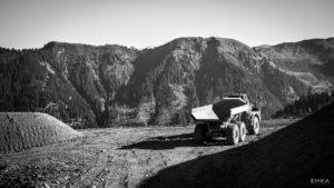 EMKA Photographe - Annecy - Samoëns - Reportage de Chantier - Terrassement