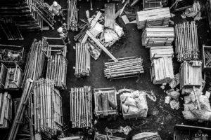EMKA Photographe - Annecy - Samoëns - Reportage de Chantier - Stockage chantier