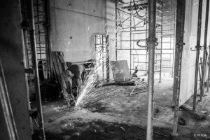 EMKA Photographe - Annecy - La Clusaz - Reportage de Chantier - Etincelles