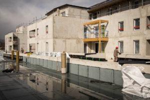 EMKA Photographe - Annecy - Haute Savoie - Reportage de Chantier - Construction Bâtiment - Suivi de chantier - Vue d'ensemble