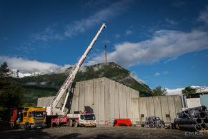 EMKA Photographe - Annecy - Ugine - Savoie - Reportage de Chantier - Construction Bâtiment Chaudière biomasse bois - Vue d'ensemble
