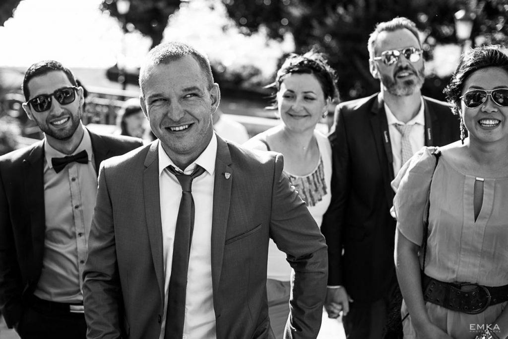 Mariage Annecy - Vos invités en groupe