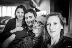 Séance lifestyle - Photo de famille - Noir et blanc