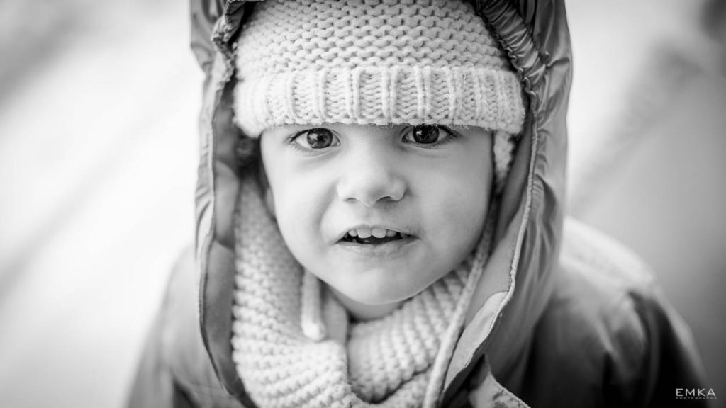 Séance lifestyle - Photo de famille - Portrait - Noir et blanc